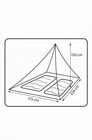 Moskitiera 360 Degrees Insect Net Double