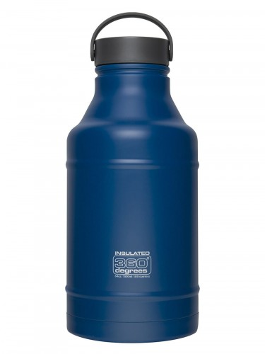 Butelka termiczna 360 Degrees SS Vacuum Insulated Growler 1800 ml Granatowa